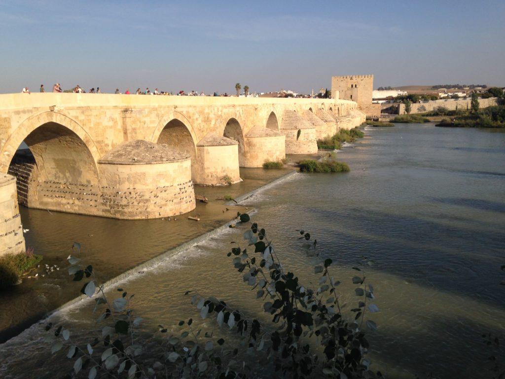 Córdoba, puente romano. España.
