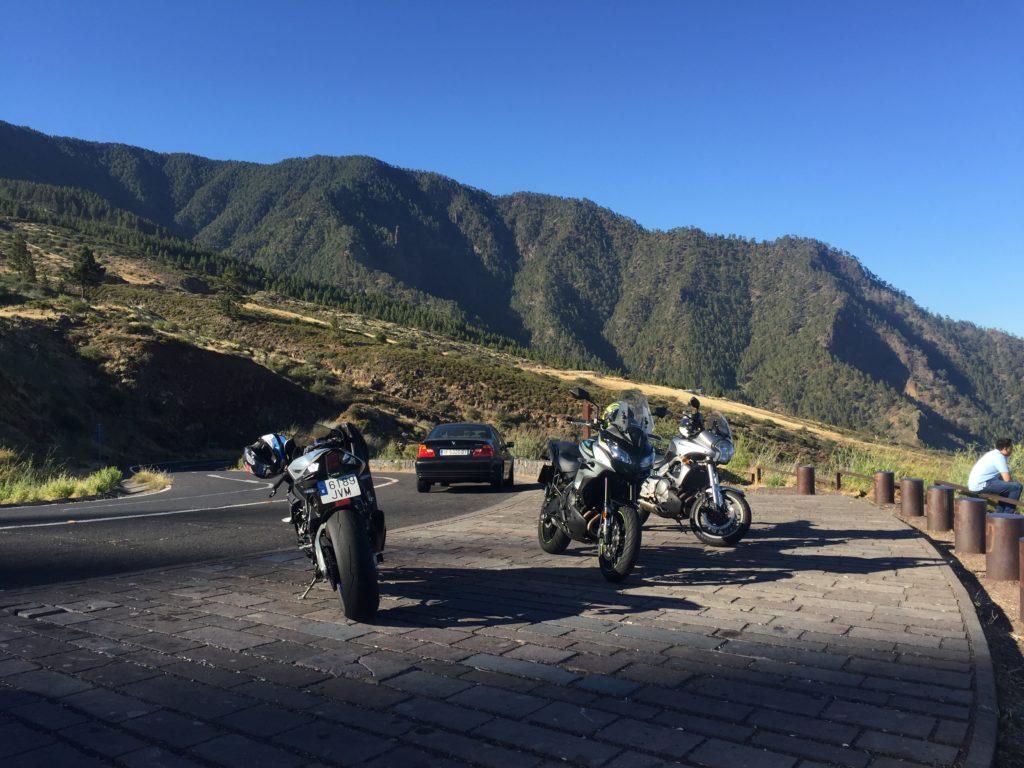 Subida de los Loros. Ruta preferida en motos deportivas o tipo R.