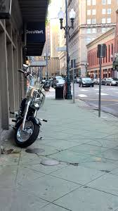 Rutas con moto desde Madrid. Los hoteles sin parking.