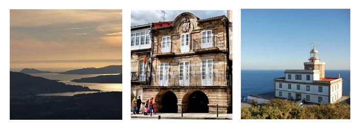 Rutas con moto de Cabo Fisterra a Vigo por las Rías Baixas