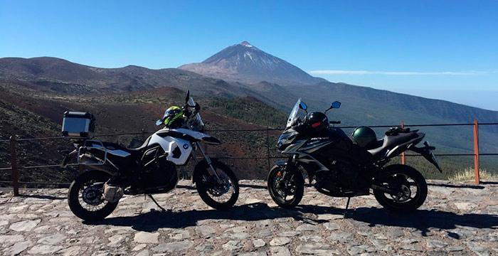 alquiler motos Tenerife islas canarias